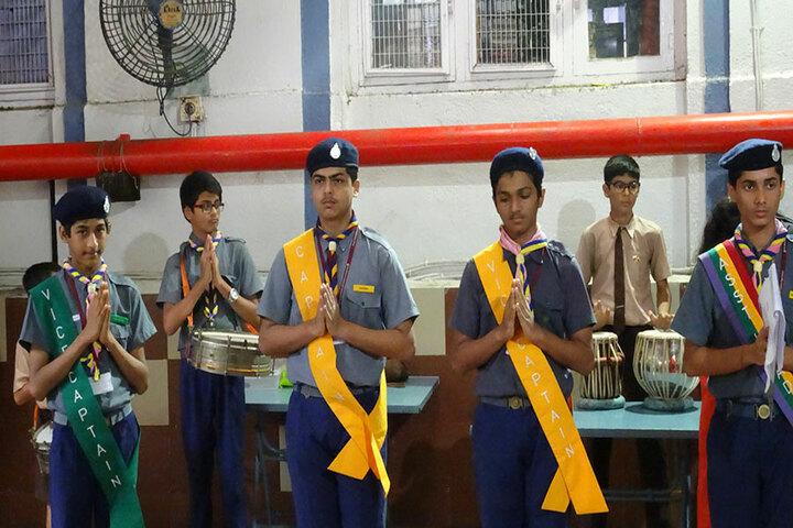 The Blossom Sunderbai Thackersey English High School-Investiture Ceremony