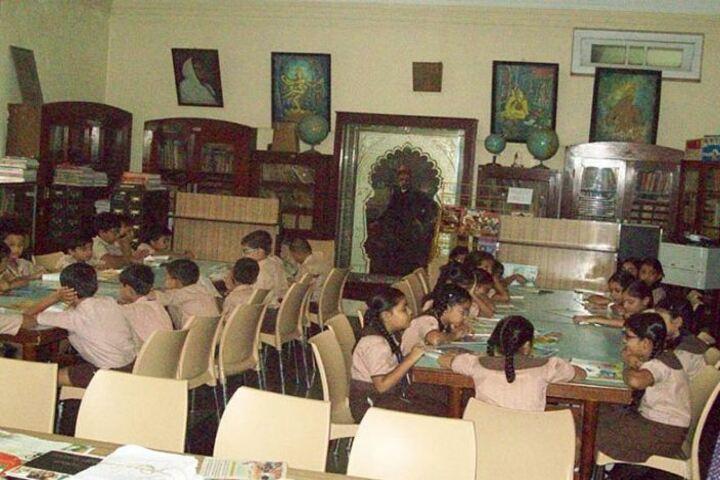 The Blossom Sunderbai Thackersey English High School-Library
