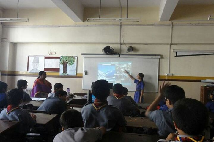 The Blossom Sunderbai Thackersey English High School-Smart Classroom