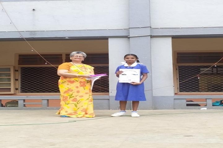 Canossa High School-Certificate