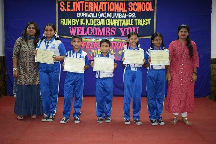S E International School-Winners