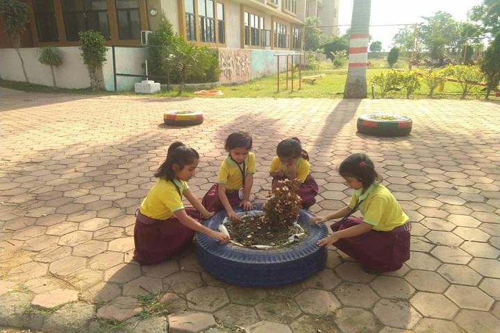 Indus World School-Tree-Plantation