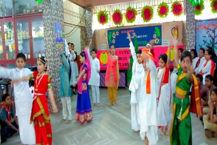 Sai Holy Faith High School-Republic Day