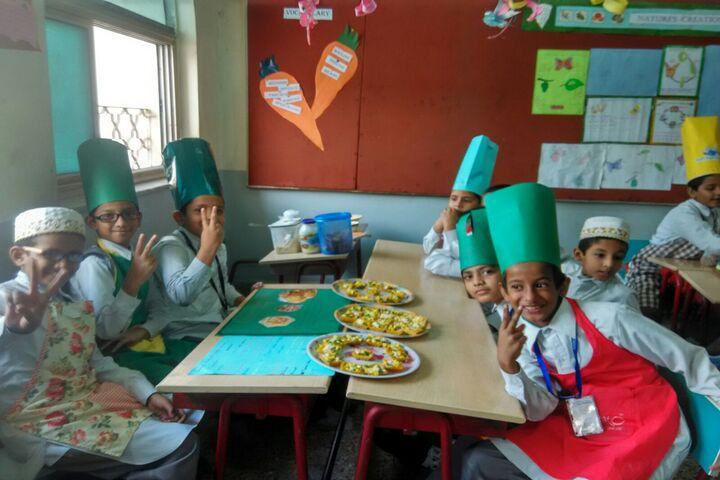 Saifi High School-Cooking Activity