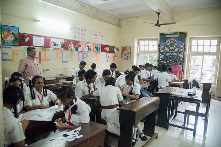 Marwari Vidyalaya High School-Art Room