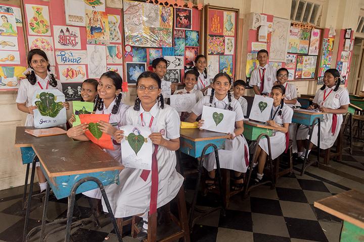 Marwari Vidyalaya High School-Art and Craft