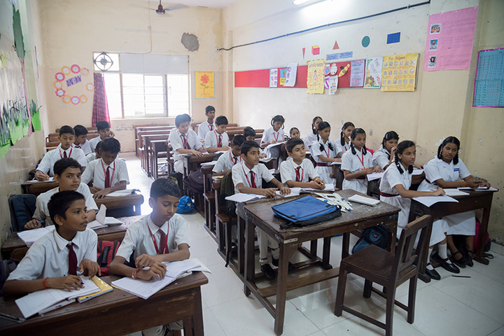 Marwari Vidyalaya High School-Class Room