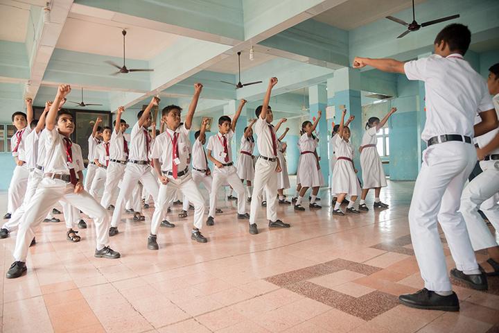 Marwari Vidyalaya High School-Karate