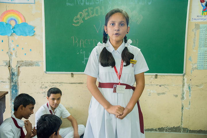 Marwari Vidyalaya High School-Speech