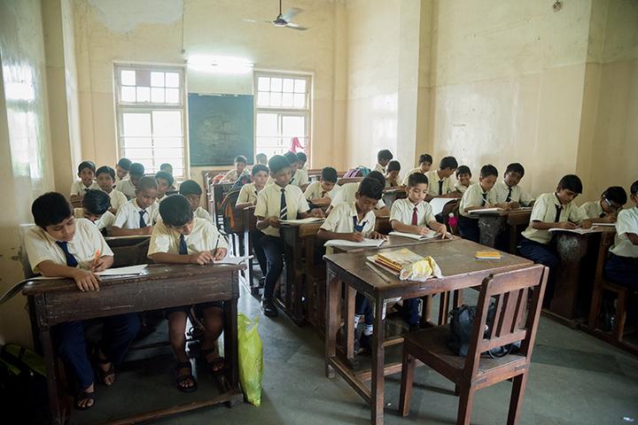 Marwari Vidyalaya High School-Students