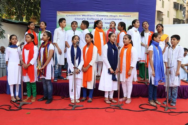 Children Welfare Centre High School-Republic Day Celebration