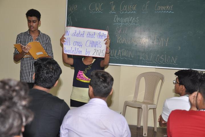 Children Welfare Centre High School-Skit