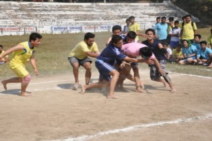 Gurukul Public Senior Secondary School-Games