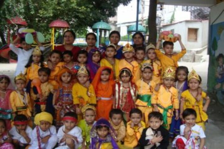 Gurukul Public Senior Secondary School-Janmastami Celebration