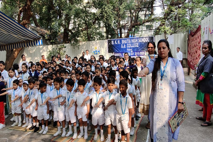 M K N Bhatia High School and Junior College- Assembly