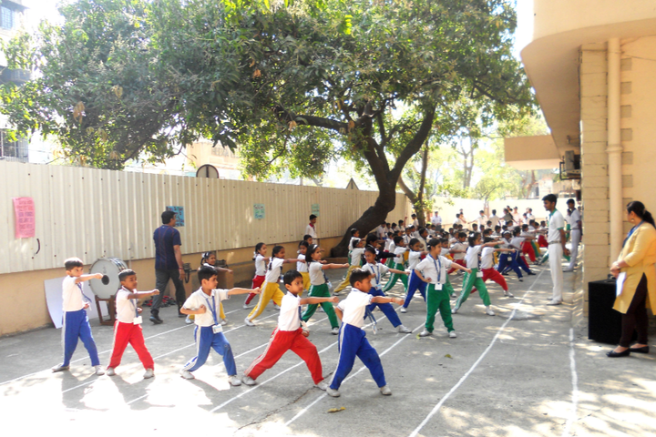 M K N Bhatia High School and Junior College- Karate