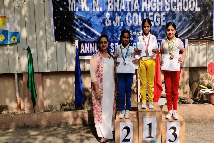 M K N Bhatia High School and Junior College- Winners