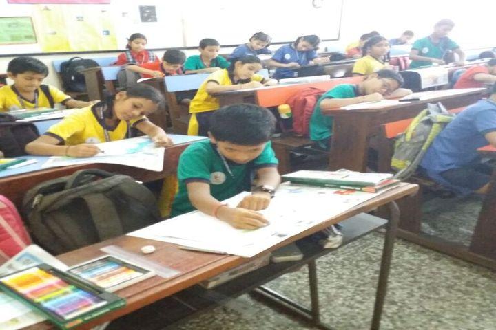 MP Shah English High School-Drawing Room