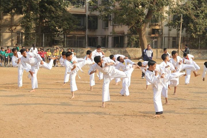 MP Shah English High School-Karate