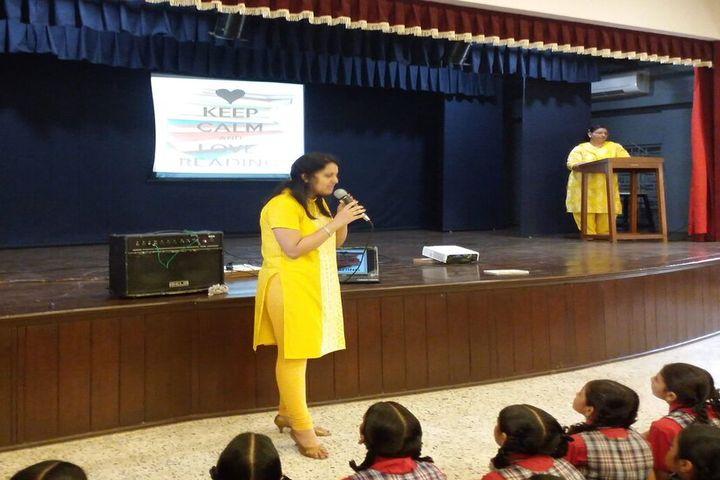 MP Shah English High School-Speech