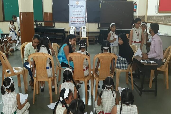 Convent of Jesus and Mary High School-Medical Checkup