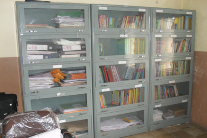 Pal Dharmendra Hindi High School-Library