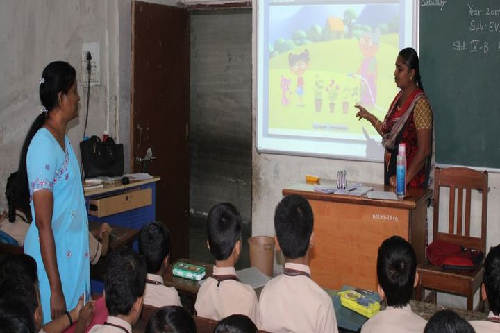 Kamraj Memorial English High School and Junior College-AV Room