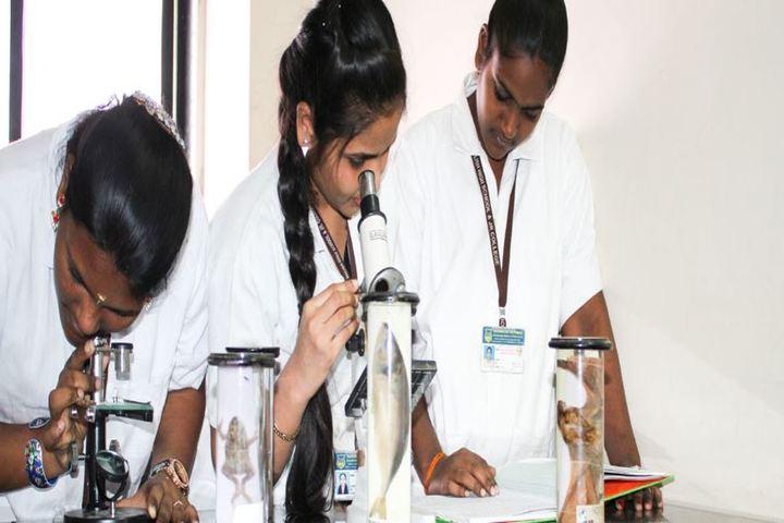 Kamraj Memorial English High School and Junior College-Biology Lab
