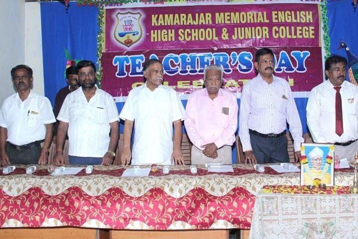 Kamraj Memorial English High School and Junior College-Teachers Day
