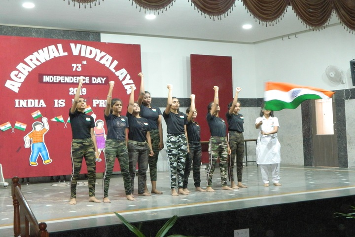 Agarwal Vidyalaya and Junior College-Independence Day