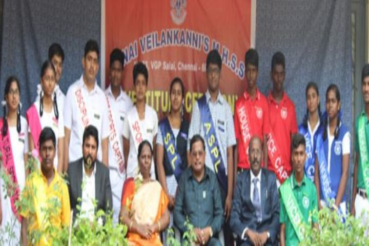 Annai Veilankannis Matric Higher Secondary School-Investiture Ceremony