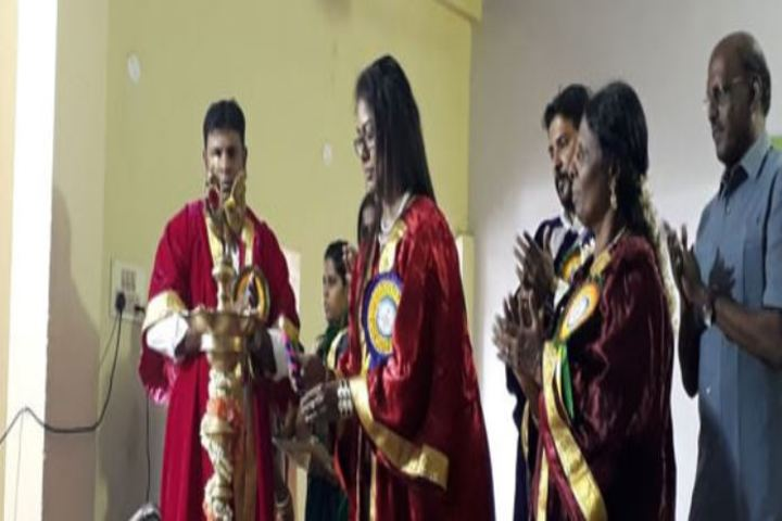 Annai Veilankannis Matric Higher Secondary School-Library Inauguration