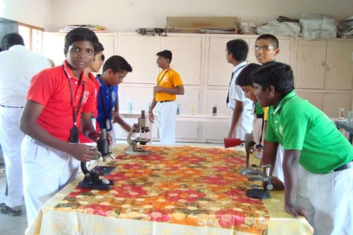 Annai Velankanni Matriculation Higher Secondary School-Biology Lab