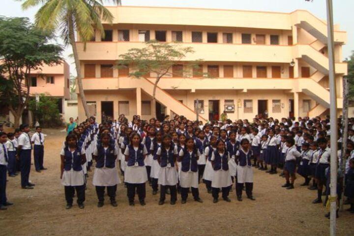 Annai Velankanni Matriculation Higher Secondary School-Campus View
