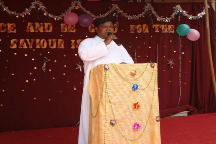Annai Velankanni Matriculation Higher Secondary School-Speech