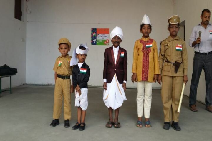 Arul Mary Matriculation School-Fancy Dress