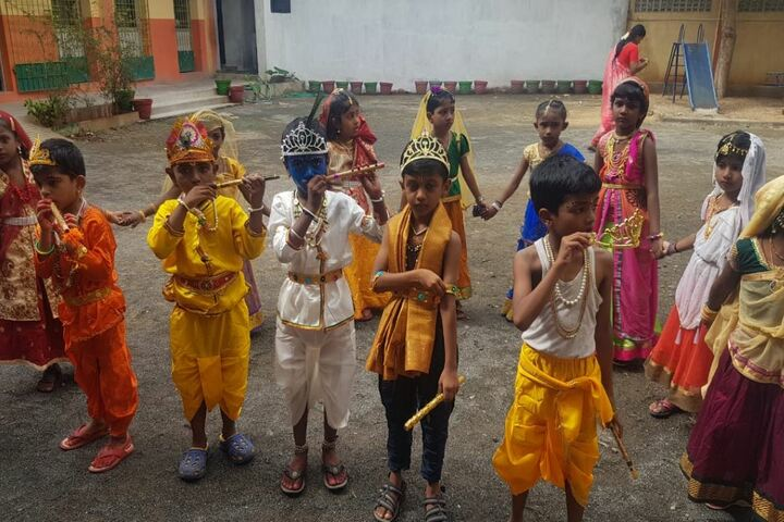 Arul Mary Matriculation School-Janmashtami Celebrations