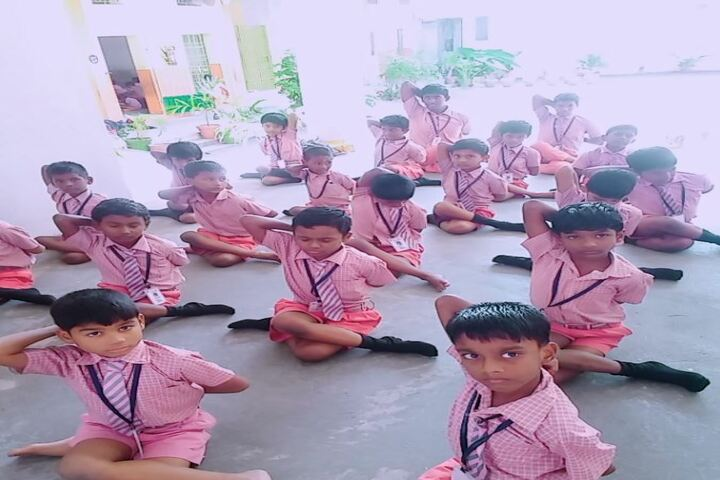 Arul Mary Matriculation School-Yoga