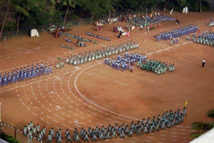 AV Meiyappan Matriculation Higher Secondary School-March Past
