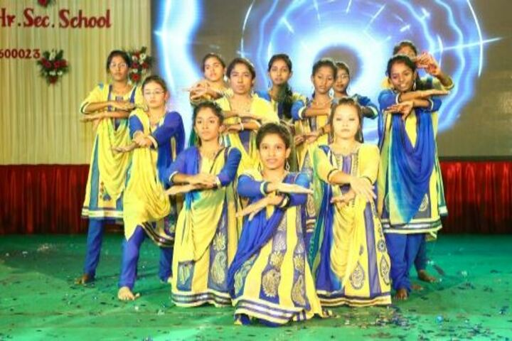 Bethel Matriculation Higher Secondary School-Cultural Dance