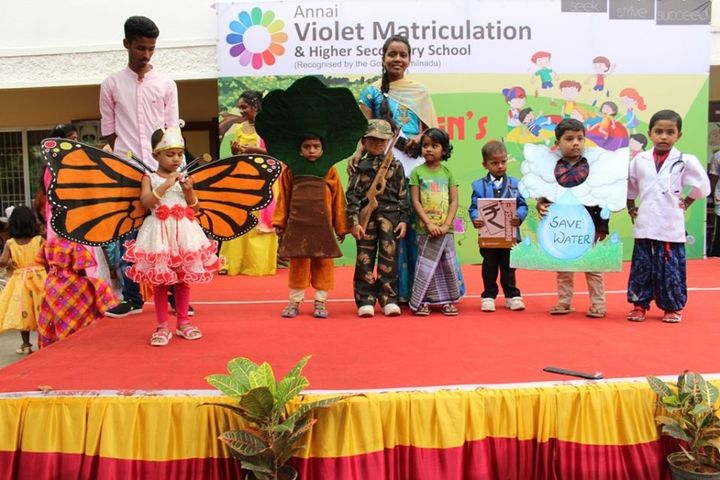 Annai Violet Matriculation School and Higher Secondary School-Children Day