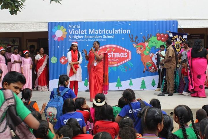 Annai Violet Matriculation School and Higher Secondary School-Christmas Day