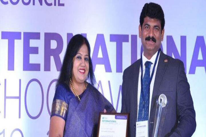 Vidya Matric Higher Seconday School-Awards