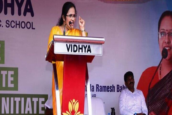 Vidya Matric Higher Seconday School-Speech