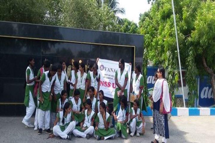Vana Vani Matriculation Higher Secondary School-NSS Camp