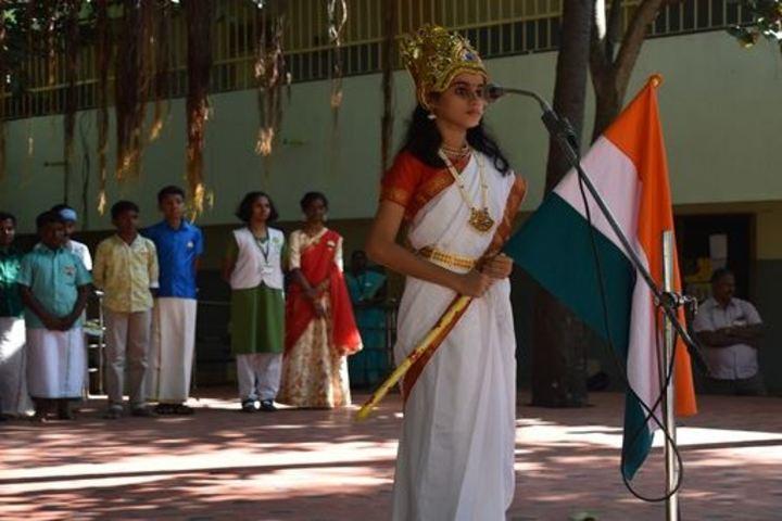 Vana Vani Matriculation Higher Secondary School-Republic Day Celebration
