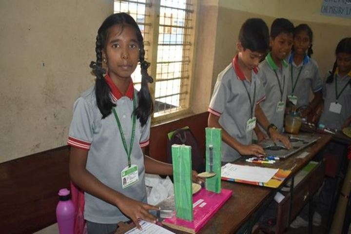 Vana Vani Matriculation Higher Secondary School-Science Project