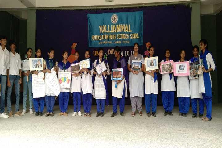 Valliammal Matriculation Higher Secondary School-UNO Day