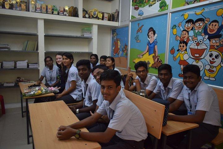 Guhan Matriculation Higher Secondary School-Classroom