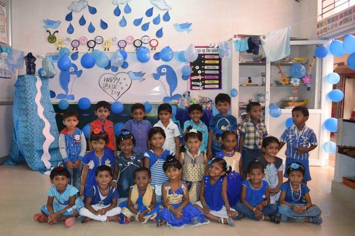 Guhan Matriculation Higher Secondary School-Colour Activity
